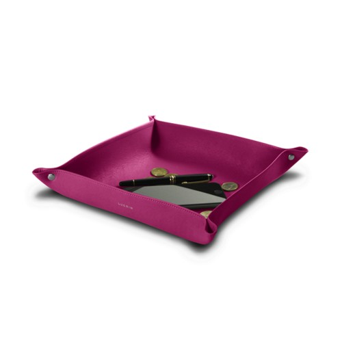 Large Square Supple Catchall (26 x 26 x 6 cm)