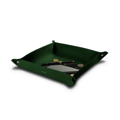 Großer, quadratischer, flexibler Taschenleerer (26 x 26 x 6 cm)