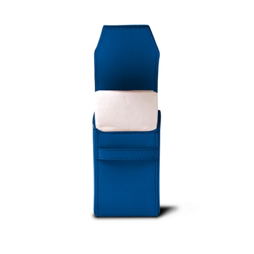 Tissues pouch - Royal Blue - Goat Leather