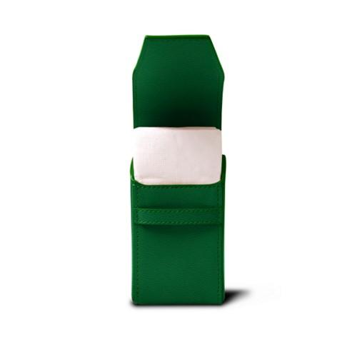 Taschentuchetui - Hellgrün - Ziegenleder