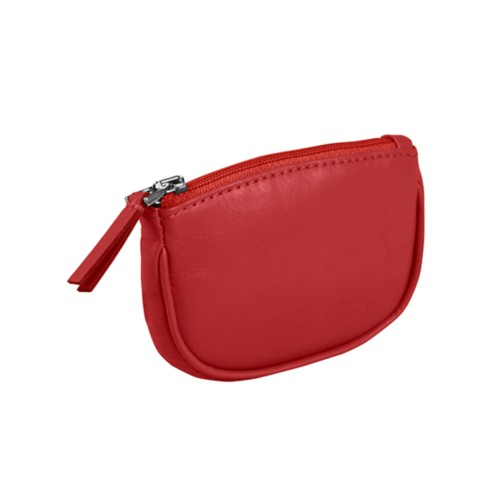 Zip-up change purse