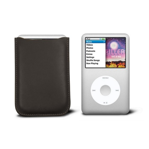 Case for  Ipod Classic - Brown - Smooth Leather