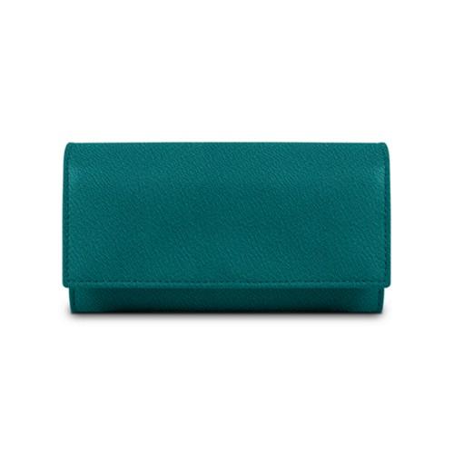 Women's wallet - Sea Green - Goat Leather