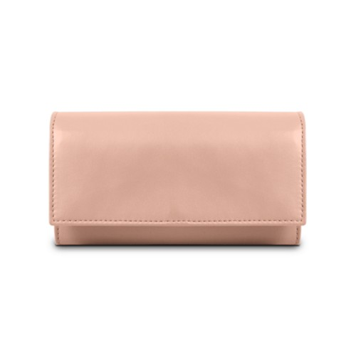 Women's wallet - Nude - Smooth Leather
