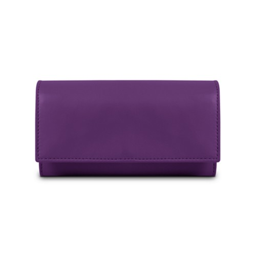 Women's wallet - Lavender - Smooth Leather