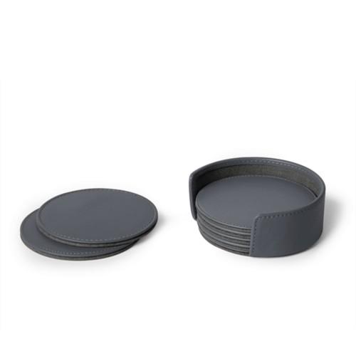 Set de 6 sous verres ronds