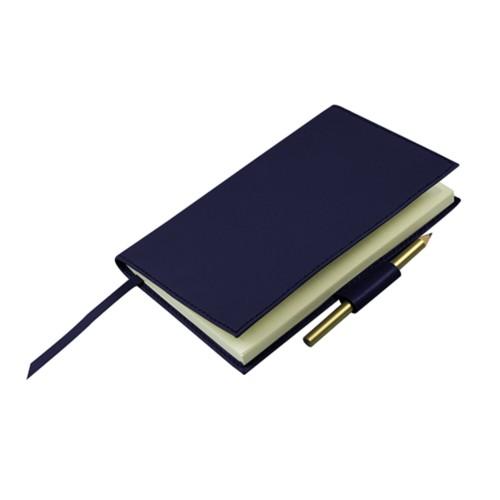 Golfscore-Notizbuch - Königsblau  - Glattleder