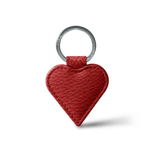 Llavero en forma de corazón