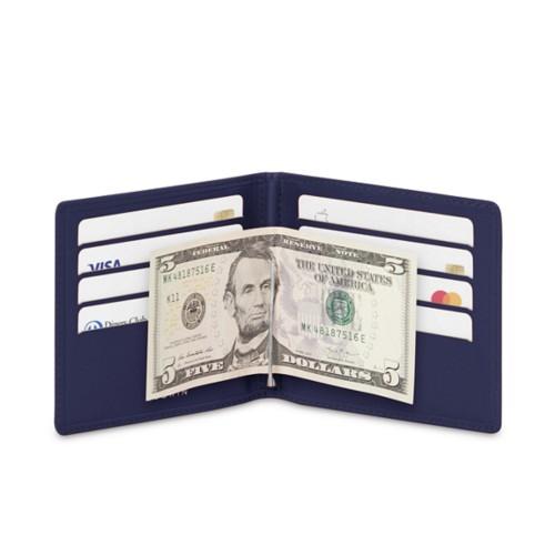 Billetera con clip para billetes