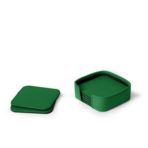 Set of 6 square coasters