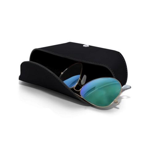Semi-Rigid glasses belt case