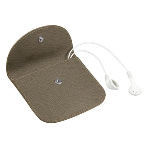 Housse à rabat pour écouteurs