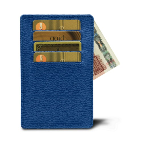 8 cards holder with middle opening (13 x 8.2 cm)