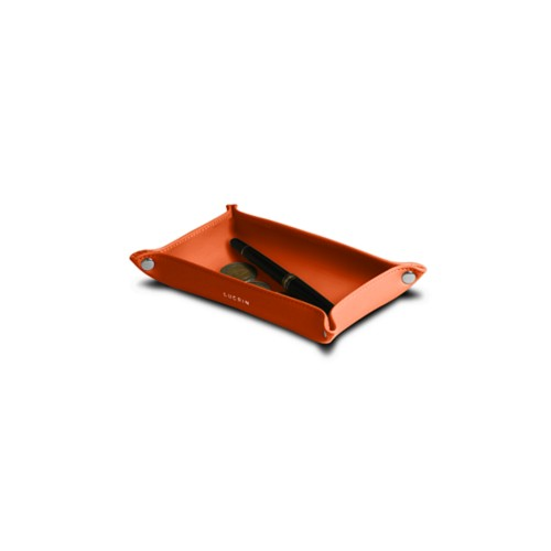 Small Rectangular Supple Catchall (17 x 11 x 3.5 cm)