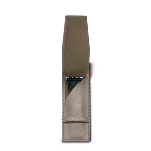 Watchband holder - Light Taupe - Goat Leather