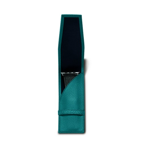Watchband holder - Sea Green - Goat Leather