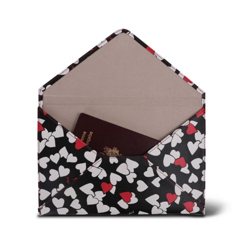 Medium envelope - Heart - Safiano