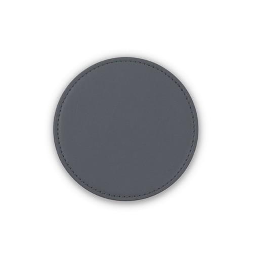 Untersetzer für HomePod - Mausgrau - Glattleder