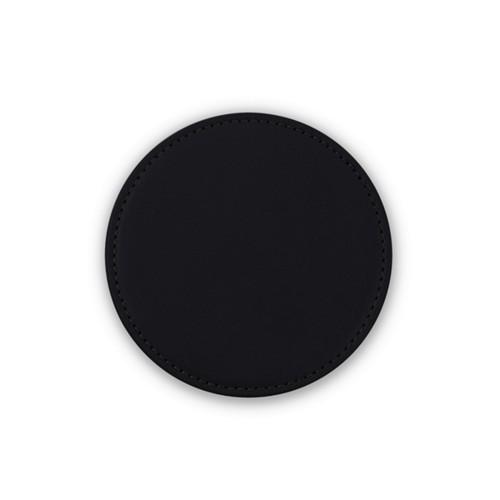 Untersetzer für HomePod - Schwarz - Glattleder