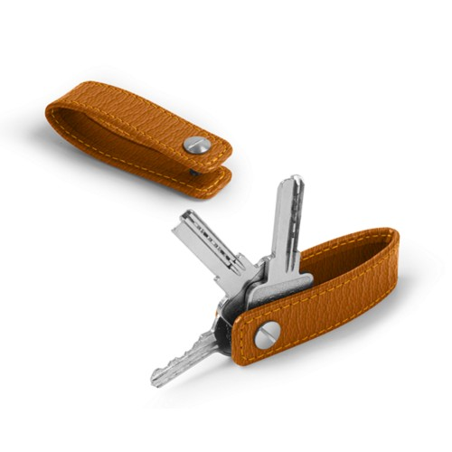 Keychain - Saffron - Goat Leather