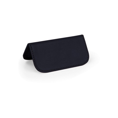 Wedding Place Card - Navy Blue - Smooth Leather