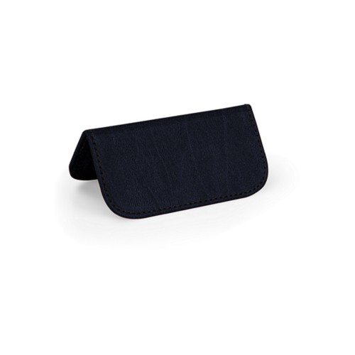Wedding Place Card - Navy Blue - Bonded Leather