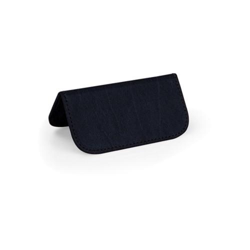 Marque place - Bleu Marine - Cuir Reconstitué