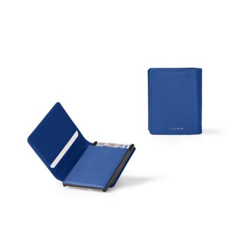 Cartera - B - Cielo Azul  - Piel Liso