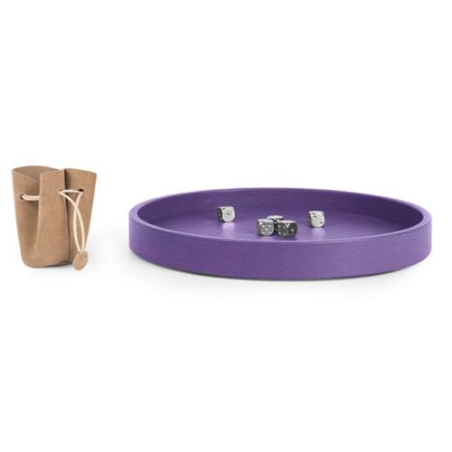 Dobbelbak - Lavendel - Korrelig Leer
