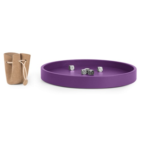 Dobbelbak - Lavendel - Soepel Leer