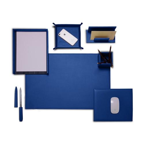 sets de bureau en cuir. Black Bedroom Furniture Sets. Home Design Ideas