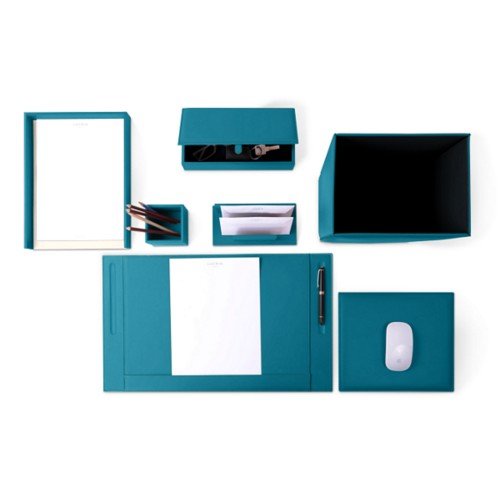 Executive Set - Turquoise - Smooth Leather