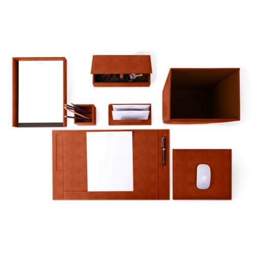 Executive Set - Tan - Vegetable Tanned Leather