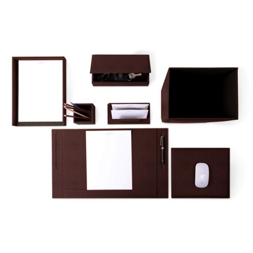 Executive Set - Dark Brown - Vegetable Tanned Leather