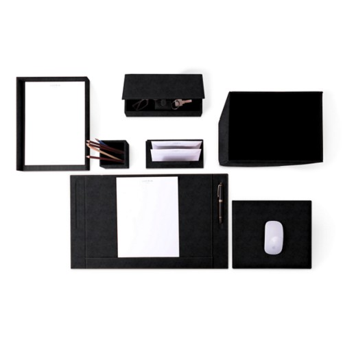 Executive Set - Black - Vegetable Tanned Leather