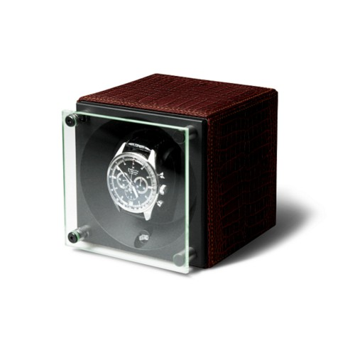 Single Watch Winder - SwissKubik by LUCRIN