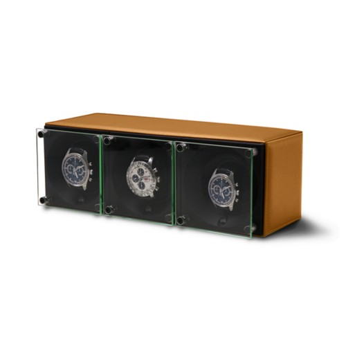 Triple watch winder - SwissKubik by LUCRIN