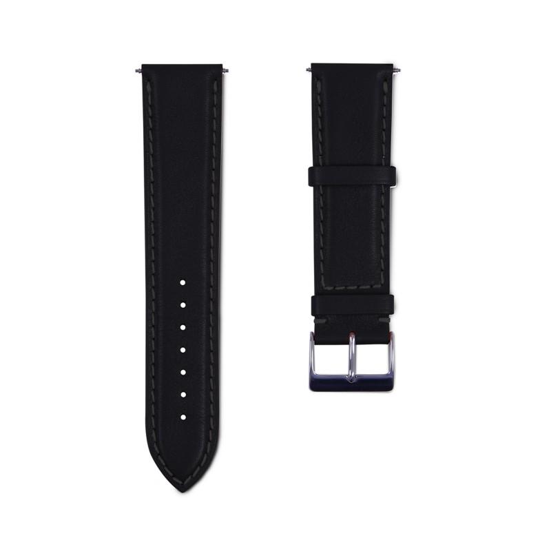 dde8bb370 Samsung Galaxy Watch 42mm Black - Smooth Leather Samsung Galaxy Watch 42mm  Black - Smooth Leather 
