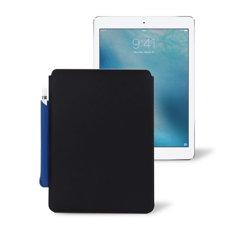 Ipad Pro 97 Case With Pencil Holder Best 6060in IPad Pro Leather Case With Apple Pencil Holder