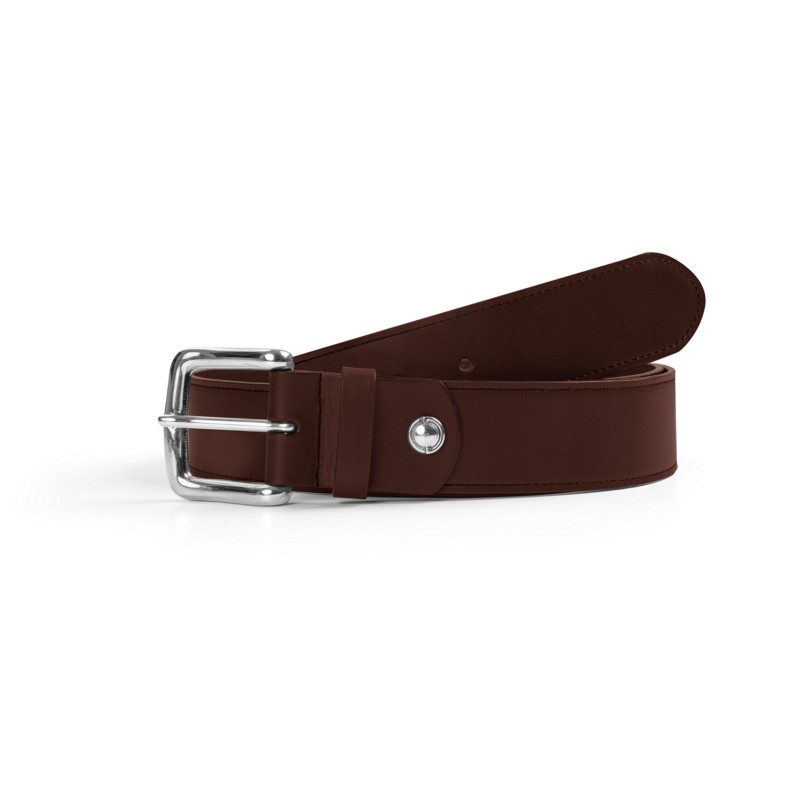 dcda29f6e8f6 Ceinture Homme largeur 4 cm Tabac - Cuir végétal Ceinture Homme largeur 4  cm Tabac - Cuir végétal  play circle outline
