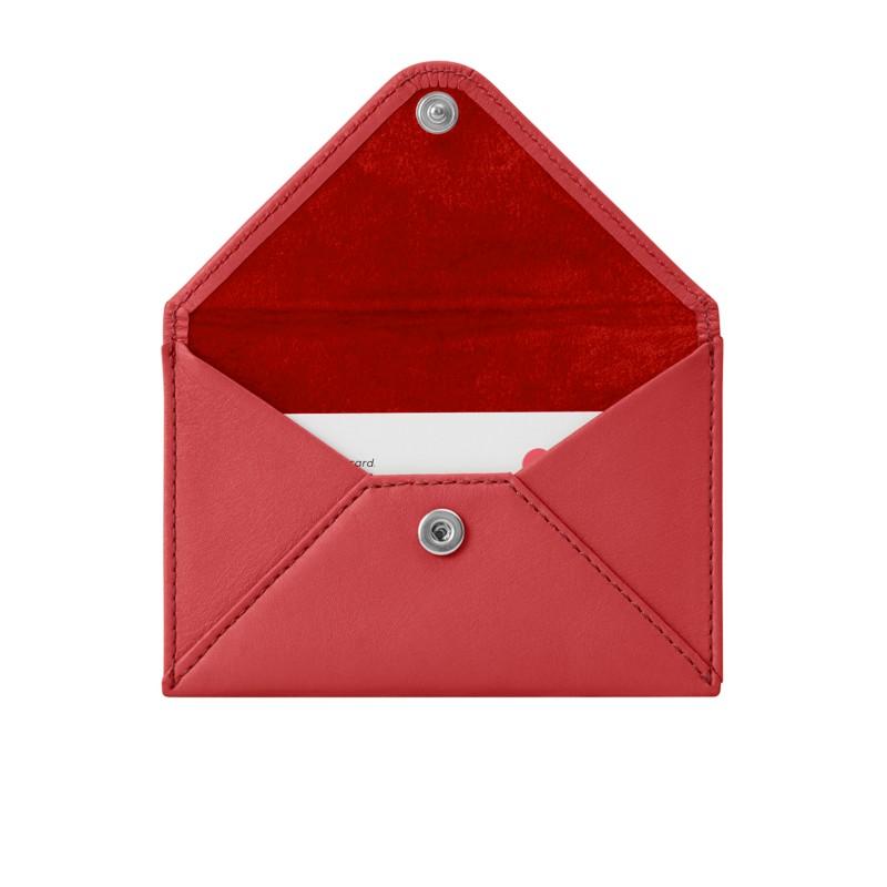 fe805c13c1f Petite Enveloppe Rouge - Cuir Lisse Petite Enveloppe Rouge - Cuir Lisse 