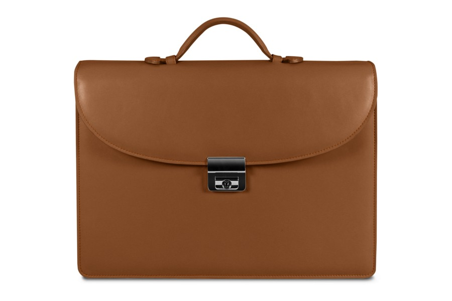 Leather Briefcase 1 Compartment