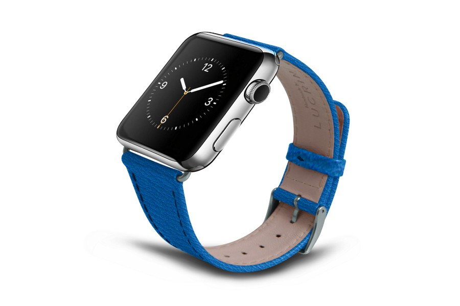 Correa para Apple Watch de 42 mm - Cielo Azul  - Piel de Cabra