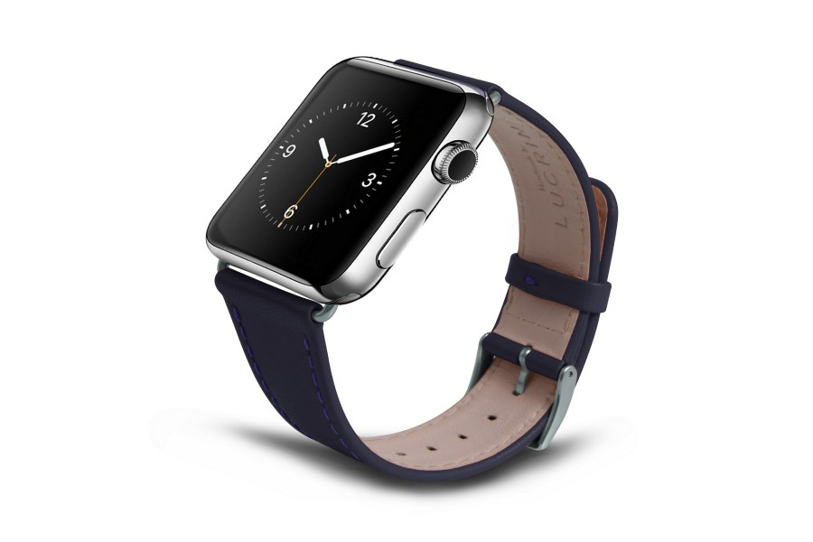 bracelet de remplacement apple watch 42mm cuir. Black Bedroom Furniture Sets. Home Design Ideas