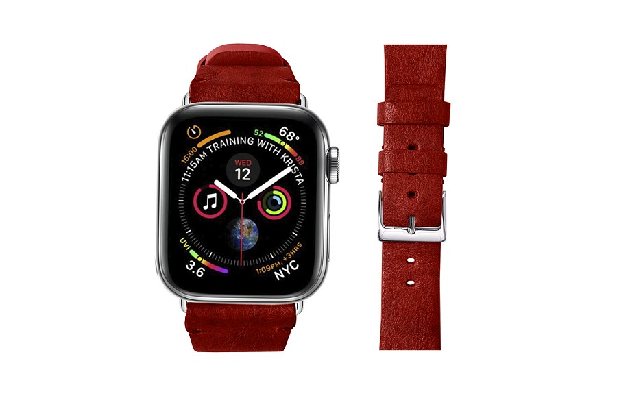 Correa para Apple Watch de 40 mm de cuero de curtido vegetal