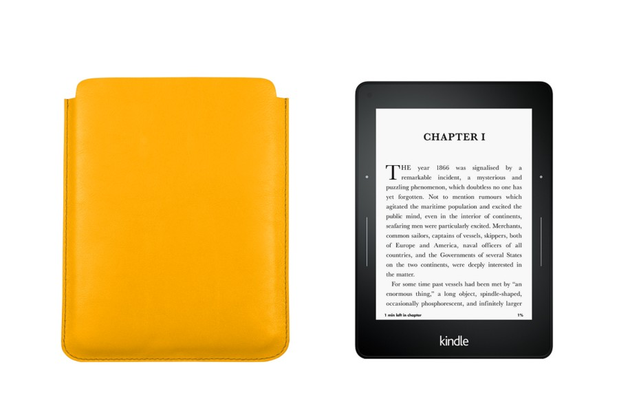 Kindle Paperwhite Ledertasche