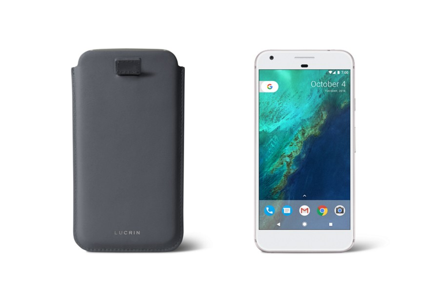 Google Pixel case with pull-up strap