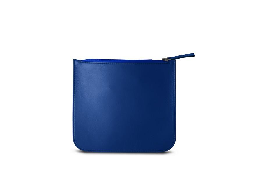 pochette chargeur pour apple bleu roi cuir lisse. Black Bedroom Furniture Sets. Home Design Ideas