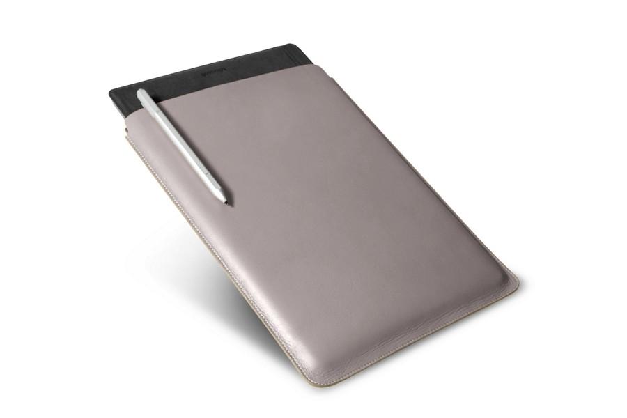 Housse pour microsoft surface pro 4 en cuir for Housse surface pro 4