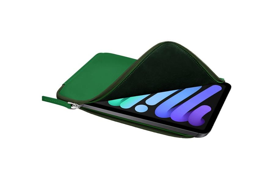 housse zipp e en cuir pour ipad mini 4. Black Bedroom Furniture Sets. Home Design Ideas